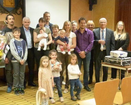 5 mai 2017 : réception à la mairie pour les nouveaux arrivants et remise des prix du fleurissement
